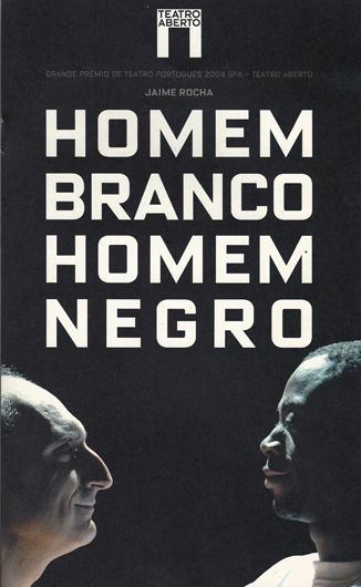 Home Branco Homem Negro